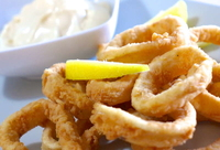 Calamari Pacific West Panko Coated (Hand Cut) Squid Rings-1x700gr