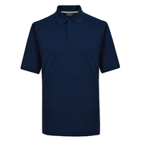 Papini Climate Performance Navy Polo