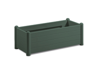 Italia Rectangular Flower Box col. Green