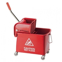 SPEEDY BUCKET & WRINGER 15ltr RED