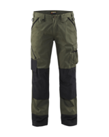 Blaklader 1454-1835 Nice and Green Work Trousers