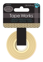 Tape Gold Foil Triangle (Priced in singles, order in multiples of 4)