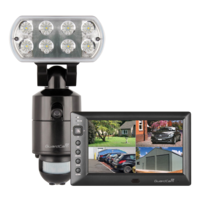 Wireless Combined Led Flood, Cam & Monitor