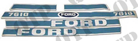 Decal Kit Ford 7610