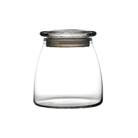 Vibe Jar & Lid 80cl 11cm High x 11.5cm Dia Carton of 6