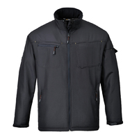 Portwest Zinc Softshell Jacket Black