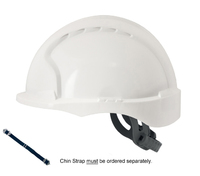JSP Evo 3 Hard Hat/Helmet with Short Micro Peak(Terylene Harness)