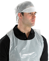 Click Disposable Snood Cap White (500 per pack)