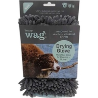 Henry Wag Microfibre Drying Glove x 1