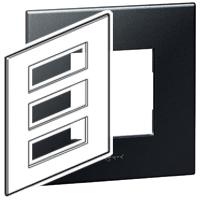 Arteor (British Standard) Plate + Support 3x6m Square Graphite| LV0501.0136