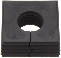 KDS-DEG 19-20 BK - Seal, black Large - 20mm M