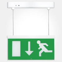 LED Emergency Hanging Exit Sign Light