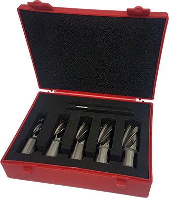 Vires Core Drill Bit Set 6pc 14-22mm