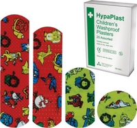 HYPAPLAST CHILDRENS WASHPROOF PLASTERS PACK OF 20