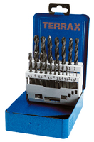 Terrax Rolled 1mm to 10mm x 19Pc.