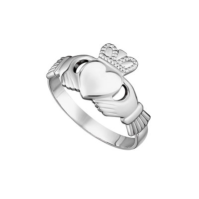 sterling silver maids claddagh ring s2280 from Solvar