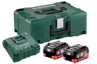 Metabo Battery Set 2 x 8.0Ah Li-HD & Ultra Charger