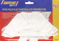 Fold Flat Dust Mask Pack of 2 Se3206