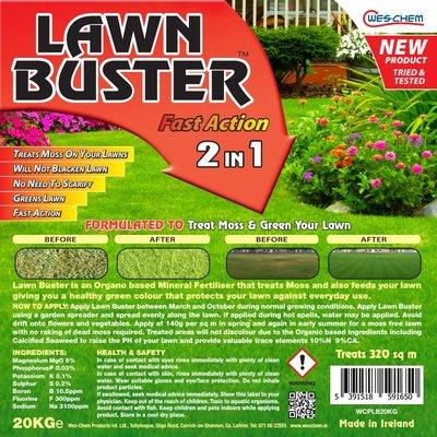 LAWN BUSTER FAST ACTION 2 IN 1 (GRANULE) 20KG