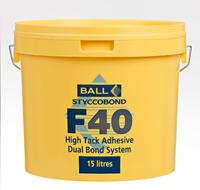F40 DUAL HIGH TACK 15LTR (33 PER PLT)