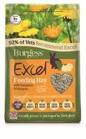 Burgess Excel Feeding Hay with Dandelion & Marigold 1kg x 1