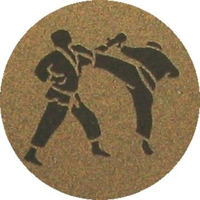 Karate (25mm Gold Centre)