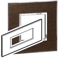 Arteor (British Standard) Plate + Support 6m Square Wenge| LV0501.2690