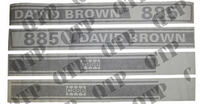 Decal Kit - David Brown 885