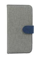 FOLIO1278 Samsung S7 Grey & navy clasp