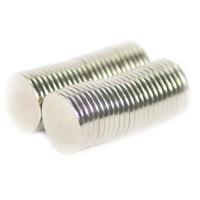 NEODYMIUM MAGNETS | DISK 18X2MM N35 NICKEL