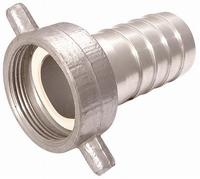 Aluminium Hose Fitting BSPF