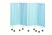 Ward Screens with Curtain