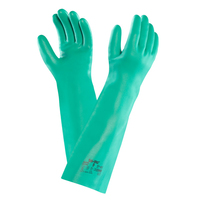 Ansell Solvex Glove, Green, Pair