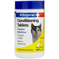 Kitzyme Cat Condition Tablets 300 Tab x 1