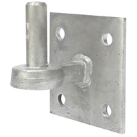Gate Hanger On Square 100mm Plate