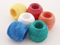 012-011  PACK 12 COLOURED TWINE