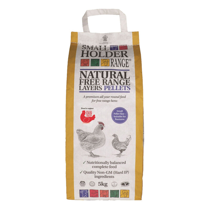 Allen & Page Small Holder Range Natural Free Range Layers Pellets 5kg