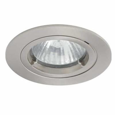 Satin Chrome IP44 Twist-Lock Bathroom Downlight | LV1002.0031