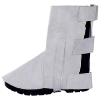 Supertouch Leather Overshoes, Grey