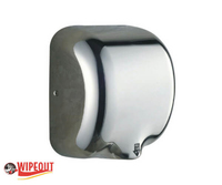 stainless steel polished automatic hand dryer