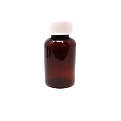 PET Tablet Bottles Amber 100ml (100)