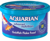 Aquarian Goldfish Fish Food 50g x 6