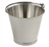 MBK4 STAINLESS STEEL BUCKET 10LTR