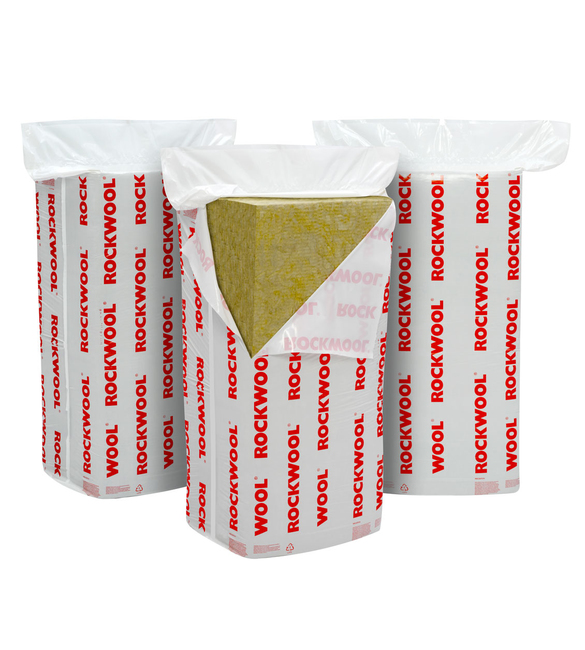 Rockwool Flexi Slab 100mm 1 2x 6mtr 4 32sqm Pack Of 6