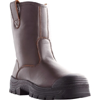Howler Everest 230mm Rigger Safety Boot With Bump Cap Brown