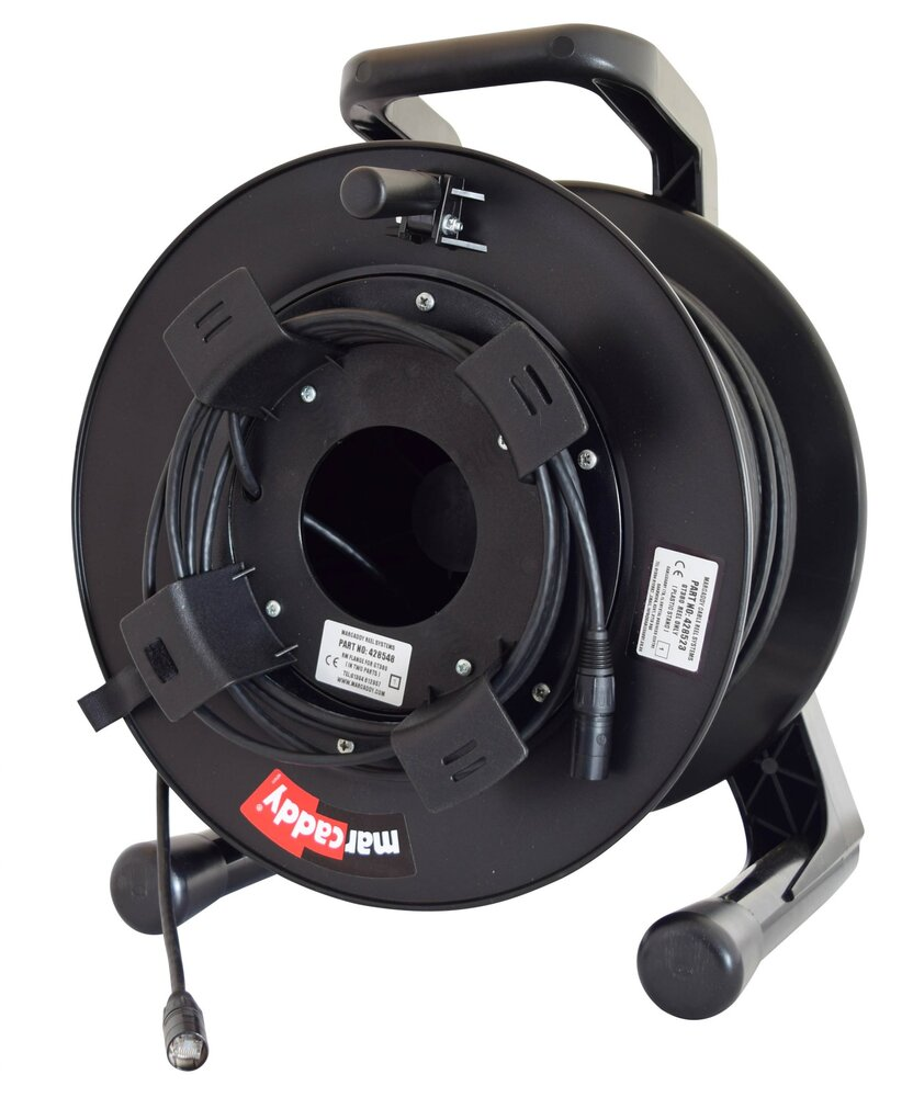 Kelsey Duracat5e Cable with Neutrik NE8MC Ethercons on 50m Metal Drum