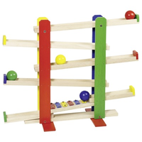 Wooden Ball Track with Xylophone Toy