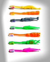 JUNIOR ANIMAL DINOSAURS TOOTHBRUSHES-PK144