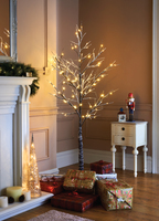 6ft Snowy Led Twig Tree