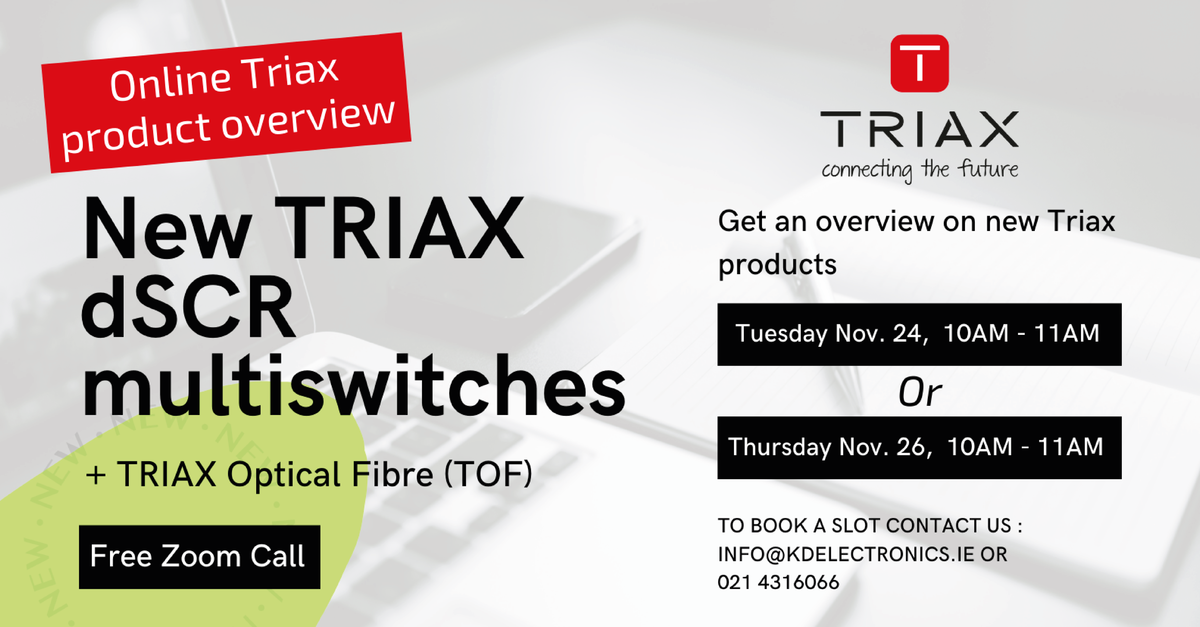 Online Triax product overview